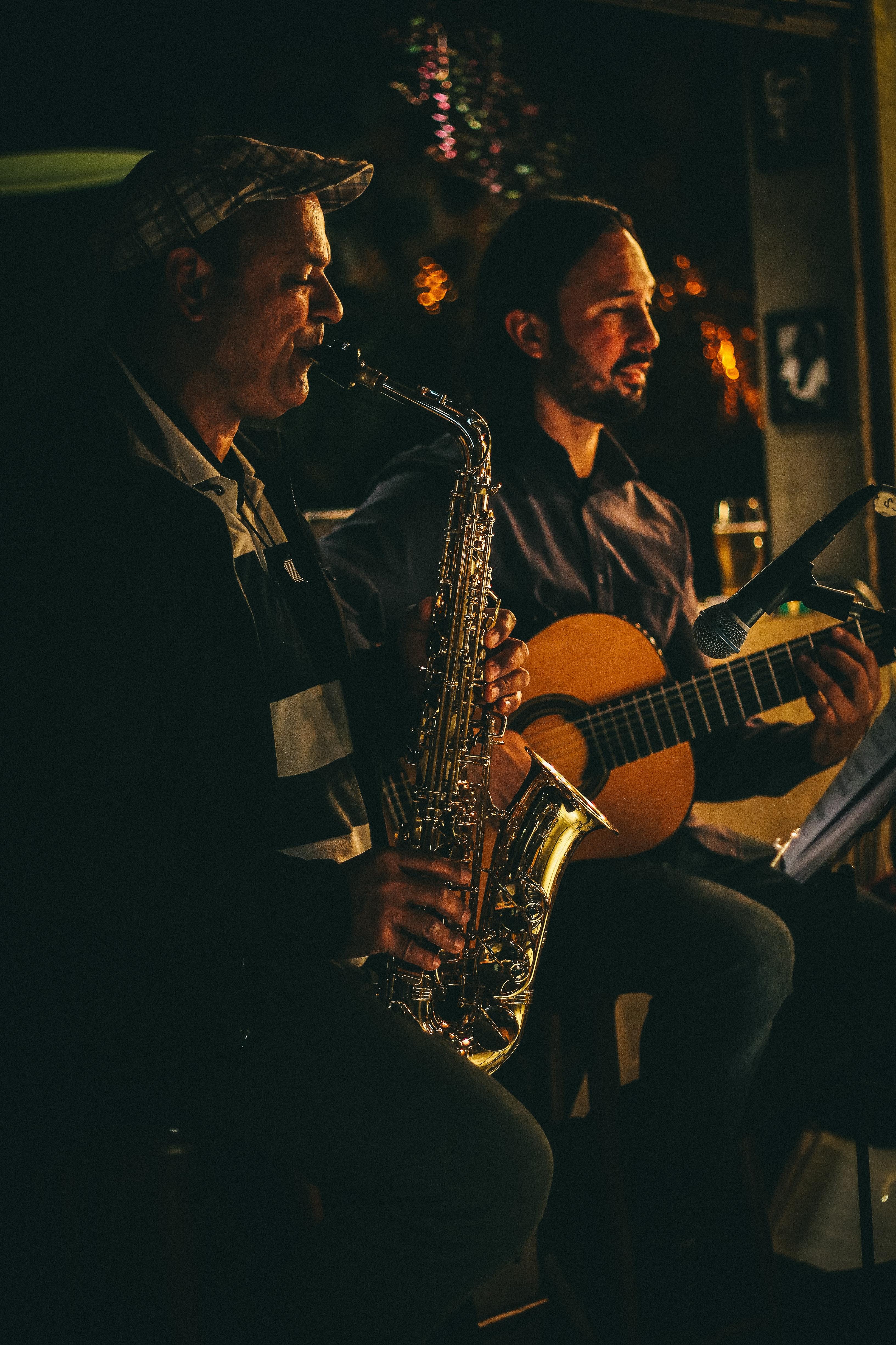 To menn i et jazzband